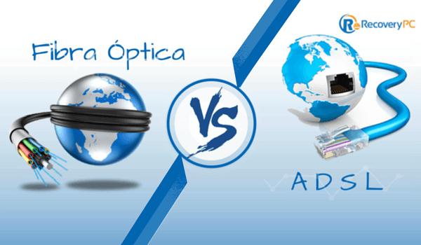 Fibra optica vs adsl