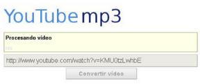 convertidor youtube a mp3