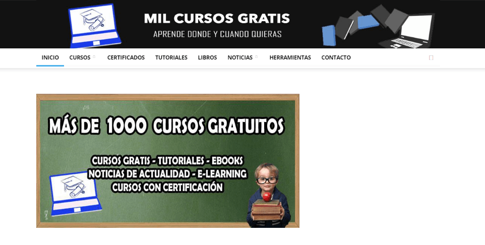 Mil cursos gratis