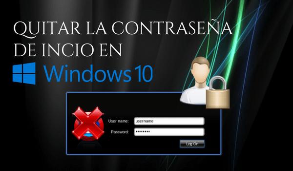 eliminar-contraseña-windows-10