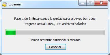 escanear archivos