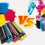 Imprimir tóner o cartuchos de inyección?