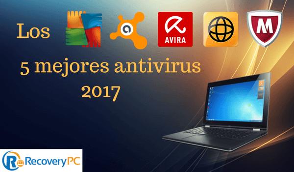 5 mejores antivirus gratuitos