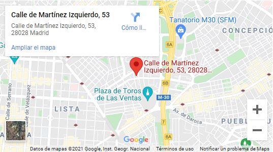 Reparación ordenadores Barrio de Salamanca