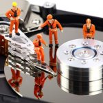 Reparación de un disco duro mecánico